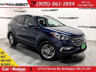 Used 2018 Hyundai Santa Fe Sport 2.4 SE  AWD  LEATHER  PANO ROOF  for sale in Burlington, ON