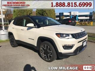 Used 2018 Jeep Compass LIMITED for sale in Richmond, BC