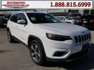 Used 2019 Jeep Cherokee Limited 4X4 for sale in Richmond, BC