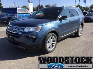 New 2019 Ford Explorer XLT  202A, XLT, MOONROOF for sale in Woodstock, ON