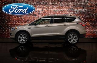 Used 2017 Ford Escape AWD Titanium Leather Roof Nav for sale in Red Deer, AB
