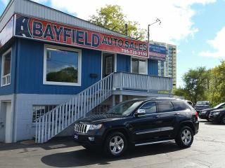 Used 2012 Jeep Grand Cherokee Laredo 4x4 **Leather/Navigation/Panoramic Roof** for sale in Barrie, ON