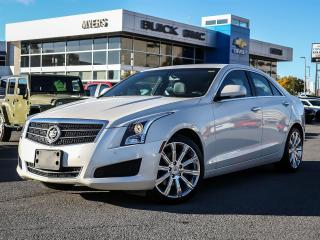 Used 2013 Cadillac ATS LUXURY, SUNROOF, AWD, 2.0 T, NAV for sale in Ottawa, ON