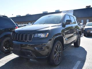 Used 2016 Jeep Grand Cherokee Limited 75TH Anniversary Edition, Navi,Sunroof, Te for sale in Concord, ON