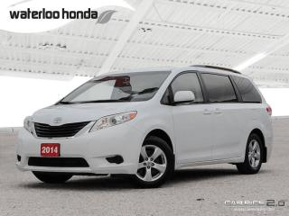 Used 2014 Toyota Sienna LE 8 Passenger Bluetooth, Back Up Camera, Heated Seats and more! for sale in Waterloo, ON