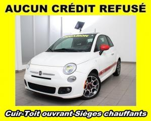 Used 2012 Fiat 500 Cuir Sièges Chauff for sale in Mirabel, QC