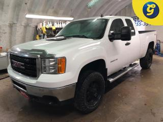 Used 2013 GMC Sierra 2500 HD Ext. Cab * 4WD * 6.0 L * On star * Voice recognition * Phone connect * Step bars * HD series rims w/ Goodyear wrangler duratrac tires * Climate contro for sale in Cambridge, ON
