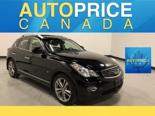 Used 2015 Infiniti QX50 NAVIGATION|REAR CAM|LEATHER for sale in Mississauga, ON