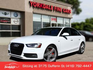 Used 2015 Audi A4 2.0L Quattro. S Line. Navigation. Reverse Camera. Blind Spot for sale in Toronto, ON