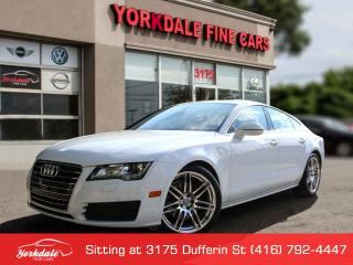 Used 2014 Audi A7 TDI Progressiv Navigation. Roof. Park Tronic sensors. Extra Clean for sale in Toronto, ON