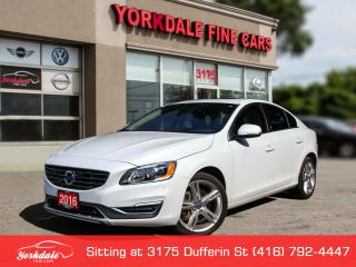 Used 2016 Volvo S60 T5 Special Edition Premier Navigation. Collision Warning. adaptive Cruise for sale in Toronto, ON