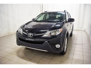 Used 2015 Toyota RAV4 Ltd Awd Grp Tech for sale in Québec, QC