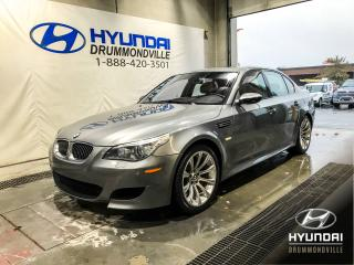 Used 2008 BMW M5 TOIT + NAVI + WOW ! for sale in Drummondville, QC
