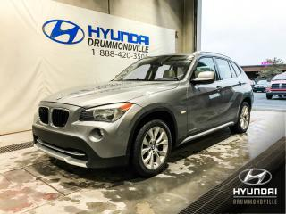 Used 2012 BMW X1 28I X-DRIVE + TOIT + WOW ! for sale in Drummondville, QC