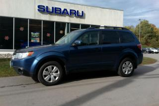 Used 2011 Subaru Forester 2.5i for sale in Minden, ON