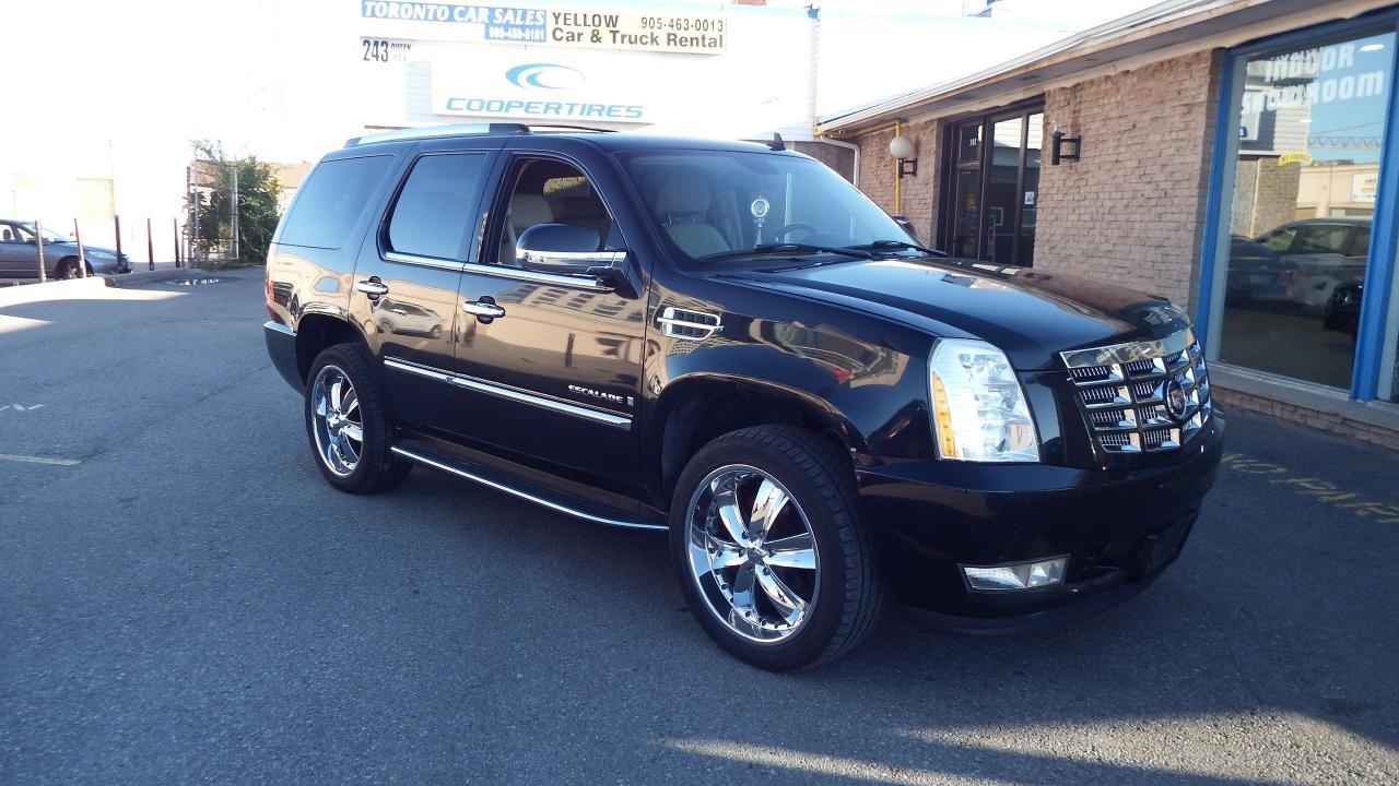 2007 Cadillac Escalade BACKUP CAMERA/LEATHER/HEATED/$$13900