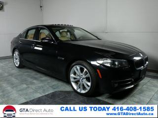 Used 2014 BMW 5 Series 535d xDrive NAV Sunroof 360CAM LUX LINE CERTIFIED for sale in Toronto, ON
