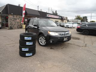Used 2011 Subaru Forester X Limited Panoramic Roof 4 new tires NO Accident B for sale in Oakville, ON