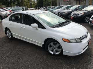 Used 2007 Honda Civic LX/ AUTO/ POWER GROUP/ ALLOYS/ LOADED! for sale in Scarborough, ON