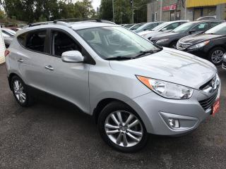 Used 2012 Hyundai Tucson GLS/ AWD/ LEATHER/ ALLOYS/ BLUETOOTH/ LIKE NEW! for sale in Scarborough, ON