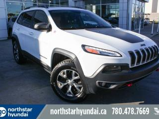 Used 2014 Jeep Cherokee TRAILHAWK V6 LEATHER/NAV/PANOROOF/BACKUPCAM for sale in Edmonton, AB