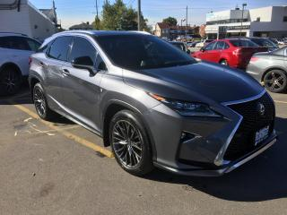 Used 2017 Lexus RX 350 F Sport for sale in North York, ON
