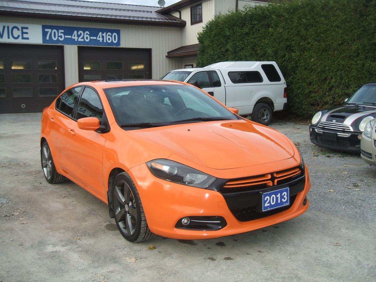 Photo of Orange 2013 Dodge Dart