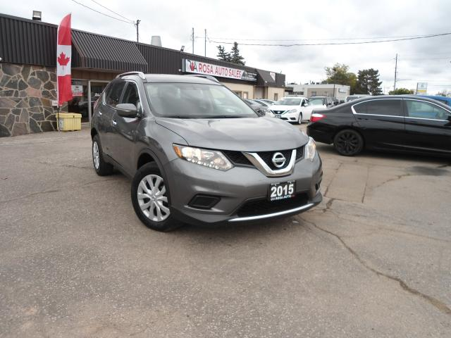 2015 Nissan Rogue AWD LOW KM NO ACCIDENT B-TOOTH BACKUP CAM PW PL PM