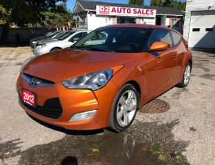 Used 2012 Hyundai Veloster Certified/Accident Free/6 Speed/Backup Camera for sale in Scarborough, ON