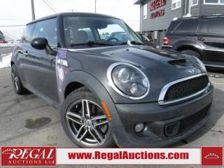 Used 2011 MINI Cooper S 2D Hatchback for sale in Calgary, AB