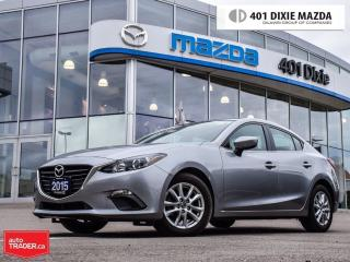 Used 2015 Mazda MAZDA3 GS, ONE OWNER, 1.9% FINANCE AVAILABLE for sale in Mississauga, ON