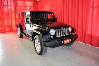Used 2016 Jeep Wrangler Unlimited Sahara | Navigation for sale in Listowel, ON