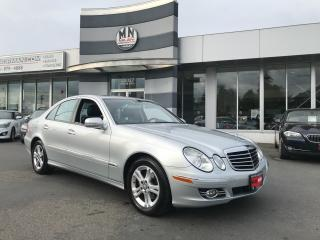 Used 2009 Mercedes-Benz E-Class E320 Adantgarde BLUETEC DIESEL ONLY 100, 000KM for sale in Langley, BC