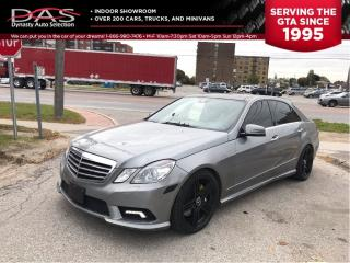 Used 2010 Mercedes-Benz E-Class E550 4MATIC NAVIGATION/REAR CAMERA/PANORAMIC ROOF for sale in North York, ON