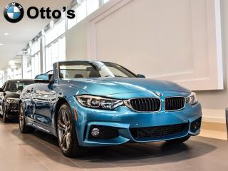 Used 2018 BMW 4 Series xDrive Cabriolet for sale in Ottawa, ON