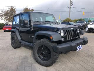 Used 2017 Jeep Wrangler Sport**6 Speed** for sale in Mississauga, ON