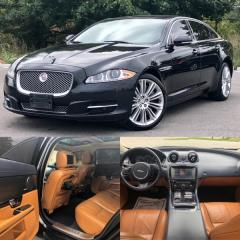 Used 2012 Jaguar XJ XJL Supercharged|DVD|NAVI|PANO ROOF|ACCIDENT FREE for sale in Mississauga, ON