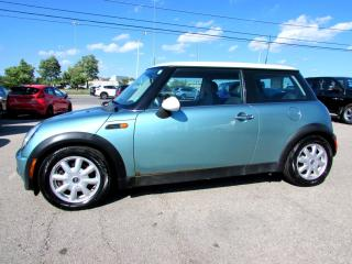 Used 2002 MINI Cooper 5 SPEED MANUAL LEATHER ALLOYS CERTIFIED 2YR WARRANTY for sale in Milton, ON