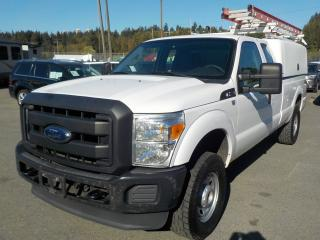 Used 2012 Ford F-250 FX4 SuperCab Long Box 4WD with work canopy for sale in Burnaby, BC