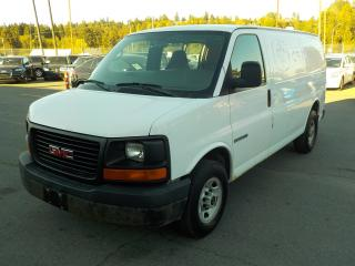 Used 2005 GMC Savana G2500 Cargo van for sale in Burnaby, BC