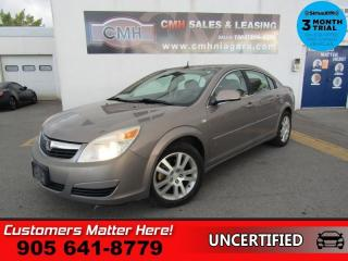 Used 2007 Saturn Aura XE  AS IS (UNCERTIFIED) AS TRADED IN for sale in St. Catharines, ON