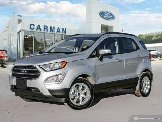 New 2018 Ford EcoSport SE for sale in Carman, MB