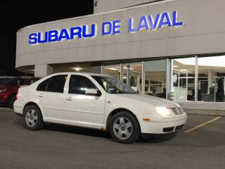 Used 2002 Volkswagen Jetta GLS Turbo ** Cuir et Toit ouvrant ** for sale in Laval, QC
