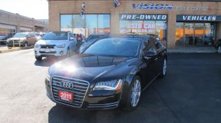 Used 2011 Audi A8 4.2 Premium (Tiptronic)/REAR TV/NAV/B UP CAM for sale in North York, ON