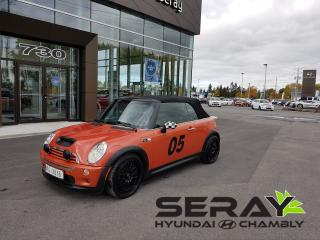 Used 2005 MINI Cooper S Cuir, A/c, Mags for sale in Chambly, QC
