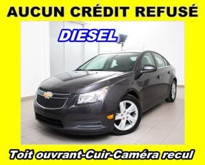 Used 2014 Chevrolet Cruze Diesel Cuir Caméra for sale in St-Jérôme, QC