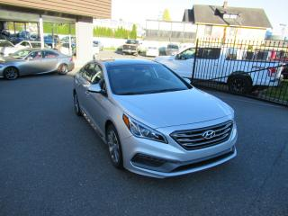 Used 2015 Hyundai Sonata SPORT - NAVIGATION for sale in Langley, BC