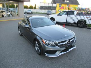 Used 2017 Mercedes-Benz C-Class C300 COUPE 4MATIC for sale in Langley, BC