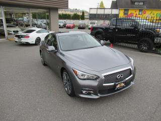 Used 2015 Infiniti Q50 3.7L ALL-WHEEL-DRIVE / NAVIGATION for sale in Langley, BC