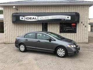 Used 2010 Honda Civic Sdn DX-A for sale in Mount Brydges, ON